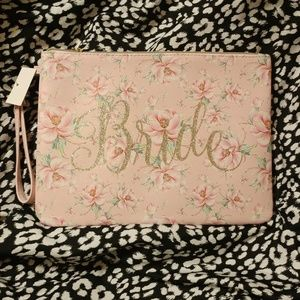 Charming Charlie Bags - 2/30 BRIDE Wristlet/clutch
